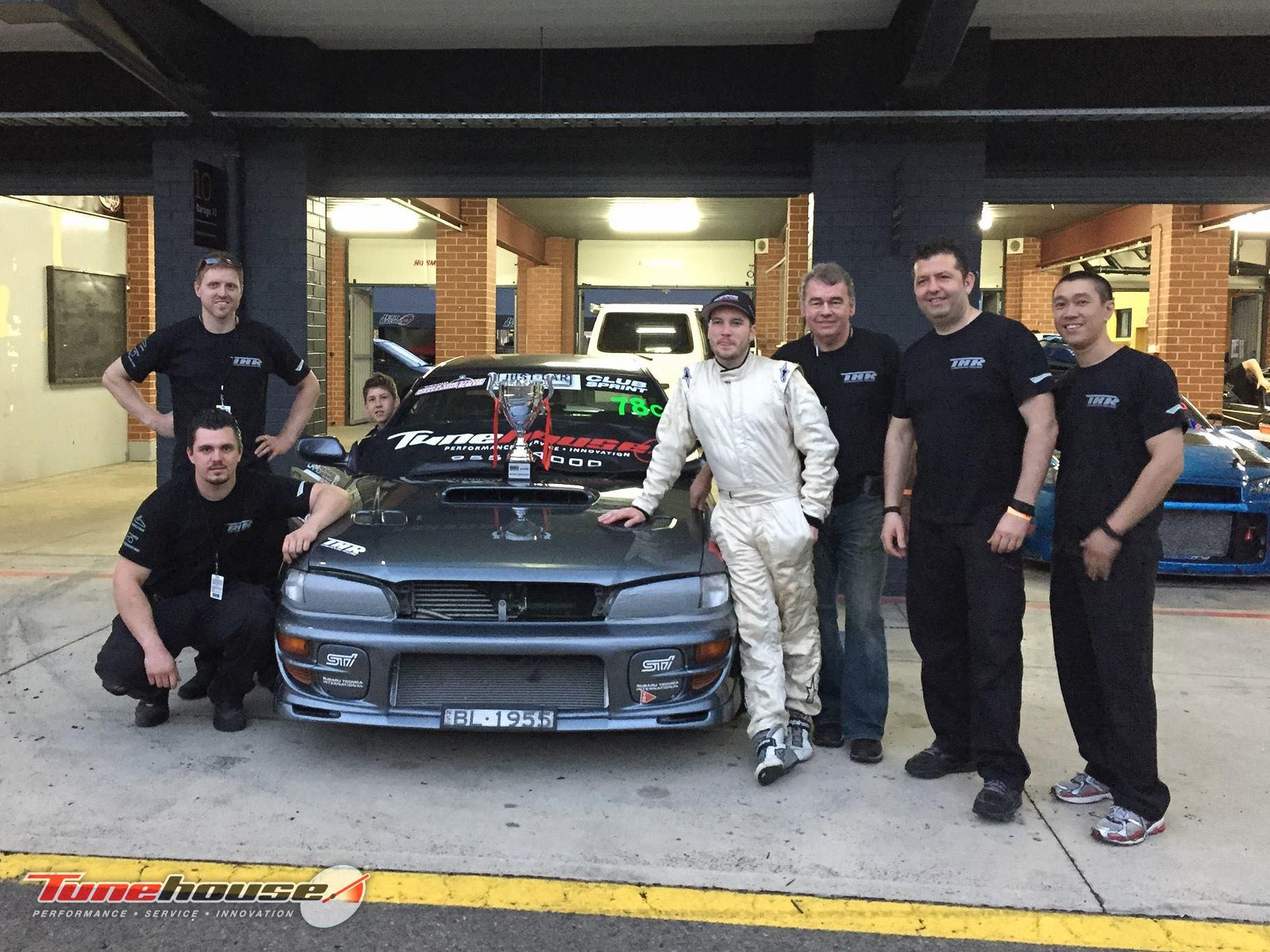 WTAC Tunehouse Subaru WRX Brian Lord 2nd Clubclass